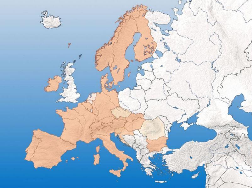 E.C.C.O. Mitglieder aus 21 Ländern