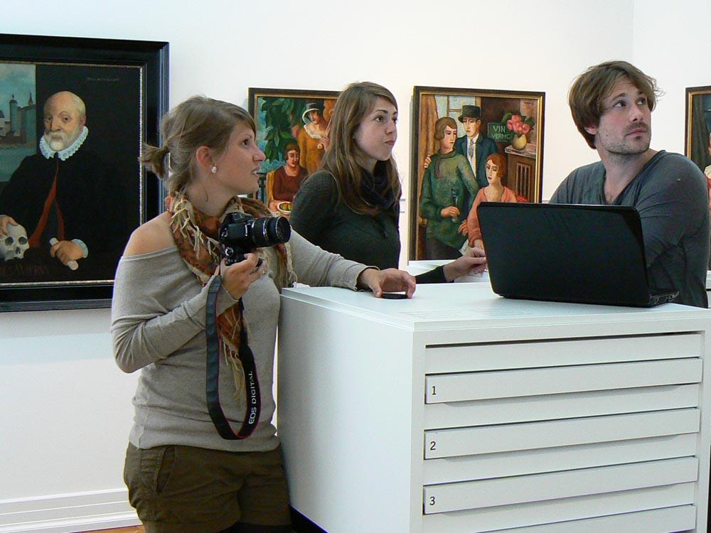 Die Restaurierung verlangt ein fundiertes Hochschulstudium, eine hohe Spezialisierung und umfassende Praxiserfahrungen. Foto: A. Jeberien, HTW Berlin