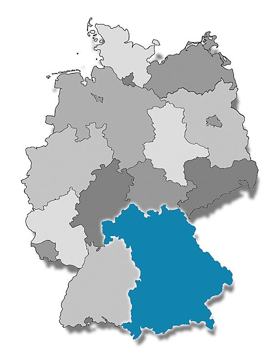 Bayern Karte.Bayernkarte Verband Der Restauratoren Vdr