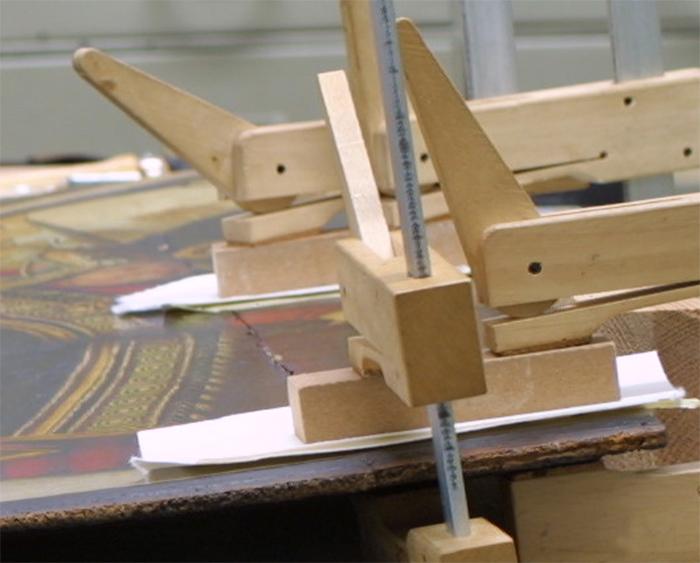 2015 befasste sich eine Tagung der Fachgruppe mit der Konservierung und Restaurierung von Holztafelgemälden.