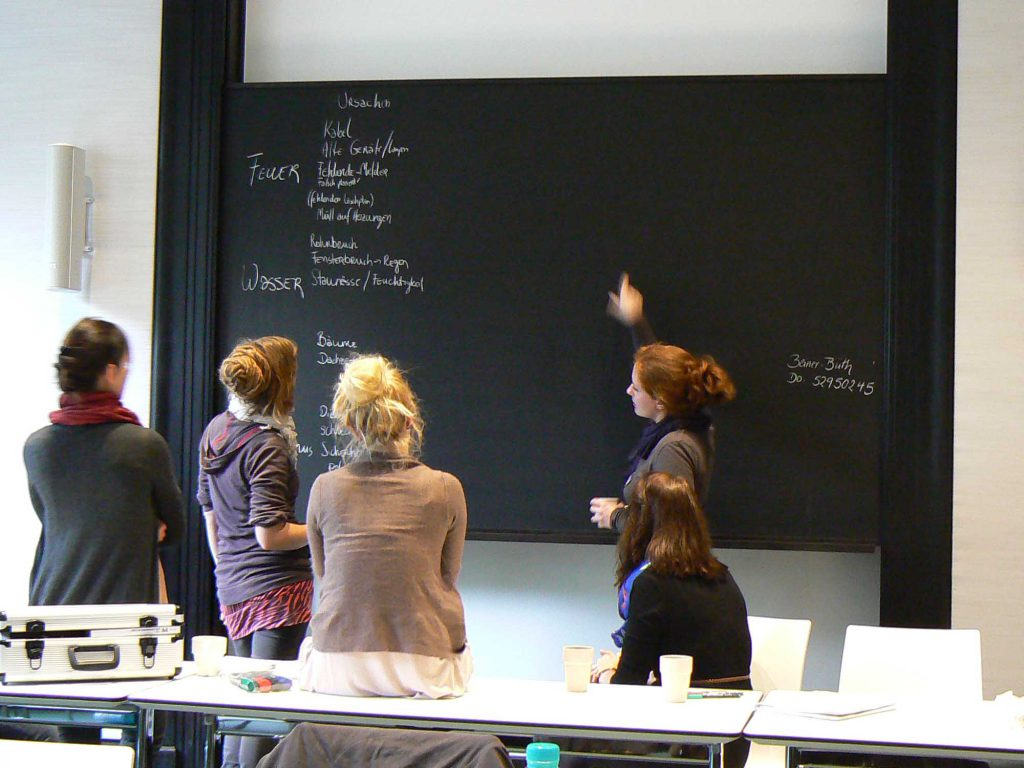 Studium der Restaurierung an der HTW Berlin. Foto: Alexandra Jeberien