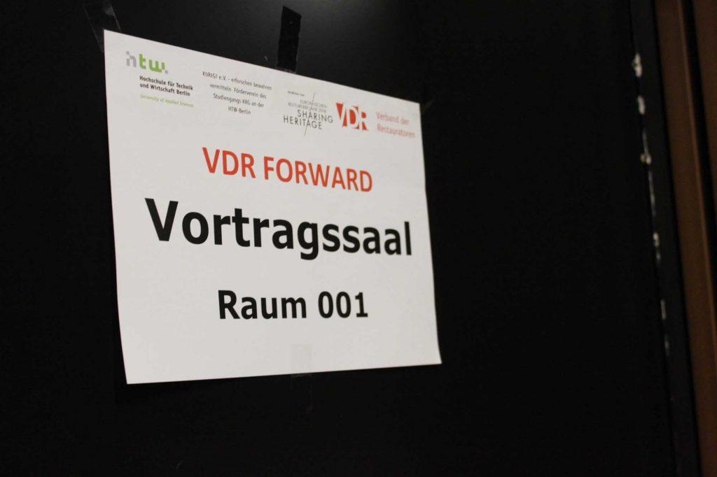 Der VDR ist Gast an der Hochschule für Technik und Wirtschaft (HTW) Berlin.