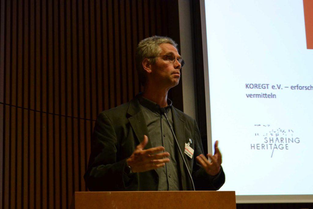 """Prof. Thomas Staemmler, Fachhochschule Erfurt: """"Restaurierung, eine praktische Geisteswissenschaft."""""""