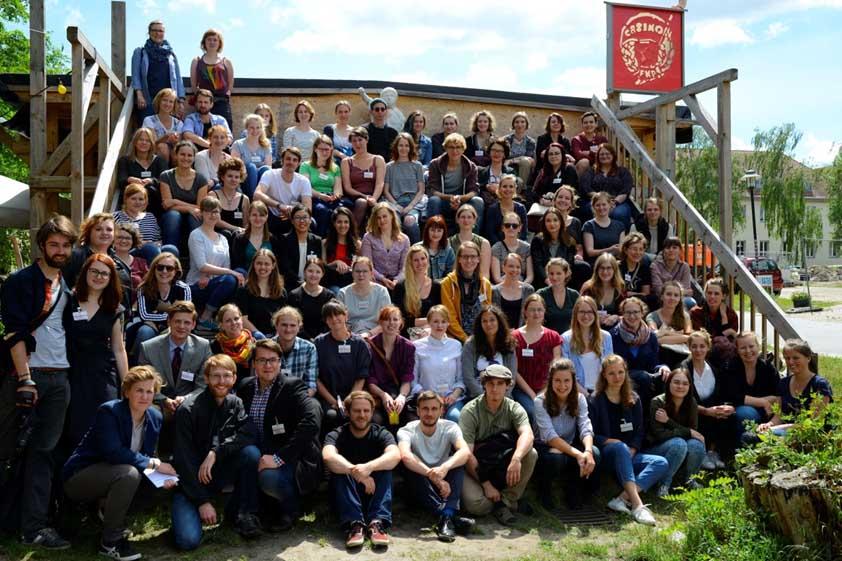 Teilnehmer des Studentenkolloquiums 2017. Foto: Dennis Mitschke