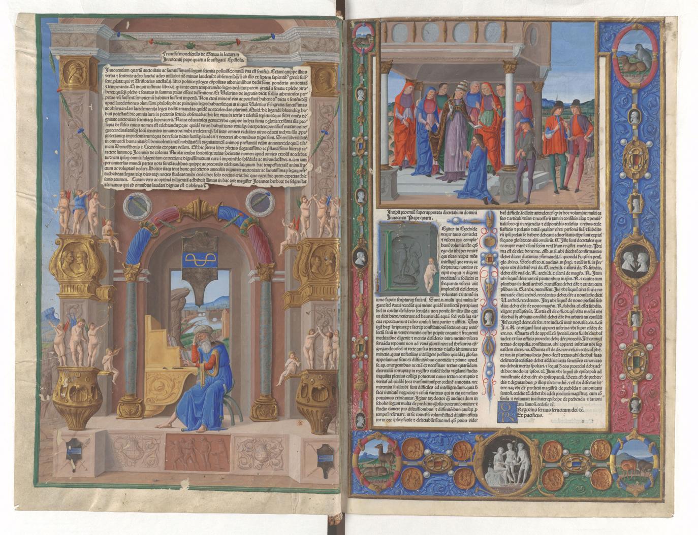 Innozenz IV., Apparatus, 1481, Gotha