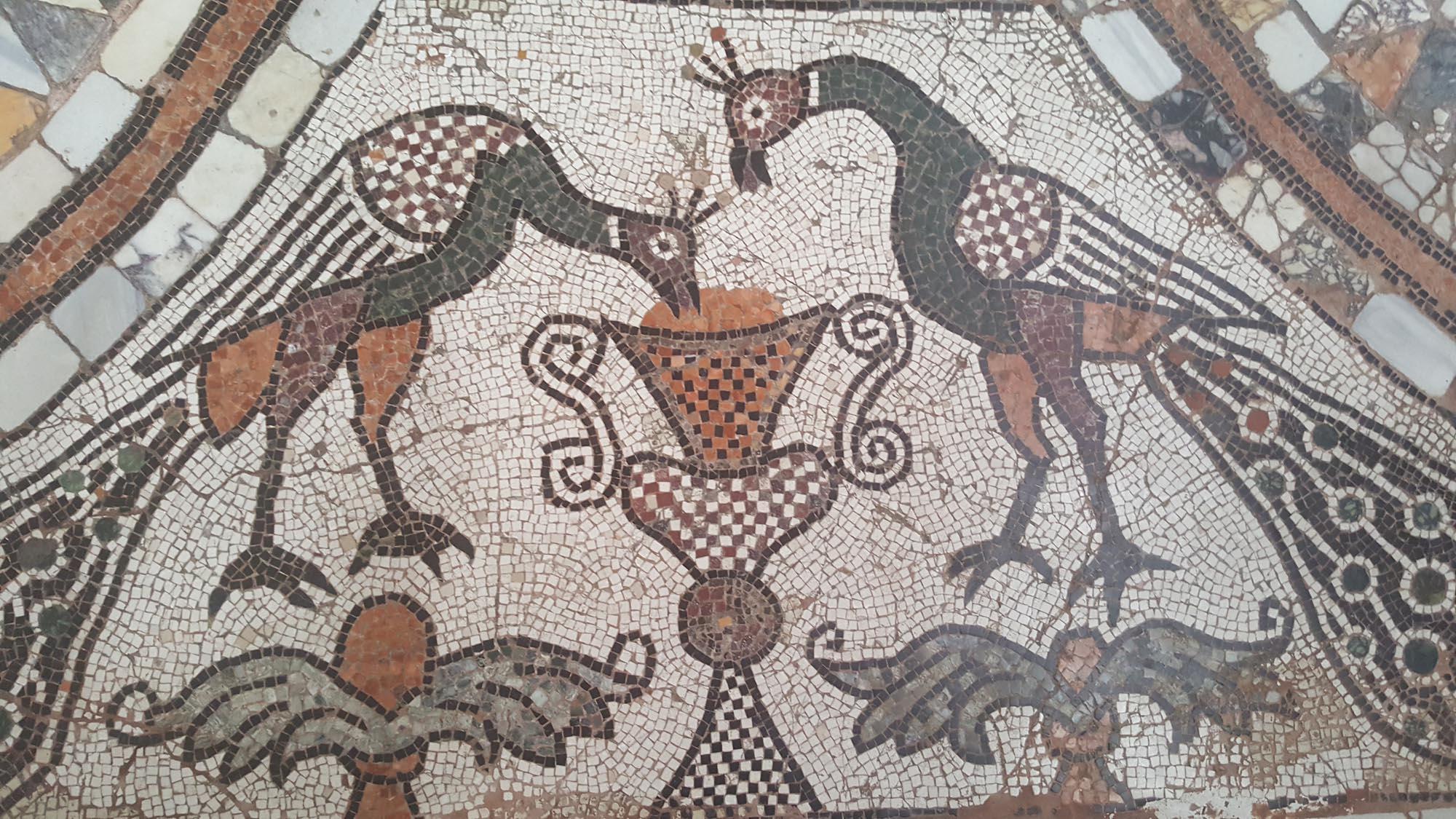 Beispiel für einen Mosaikboden. Fotos: VDR
