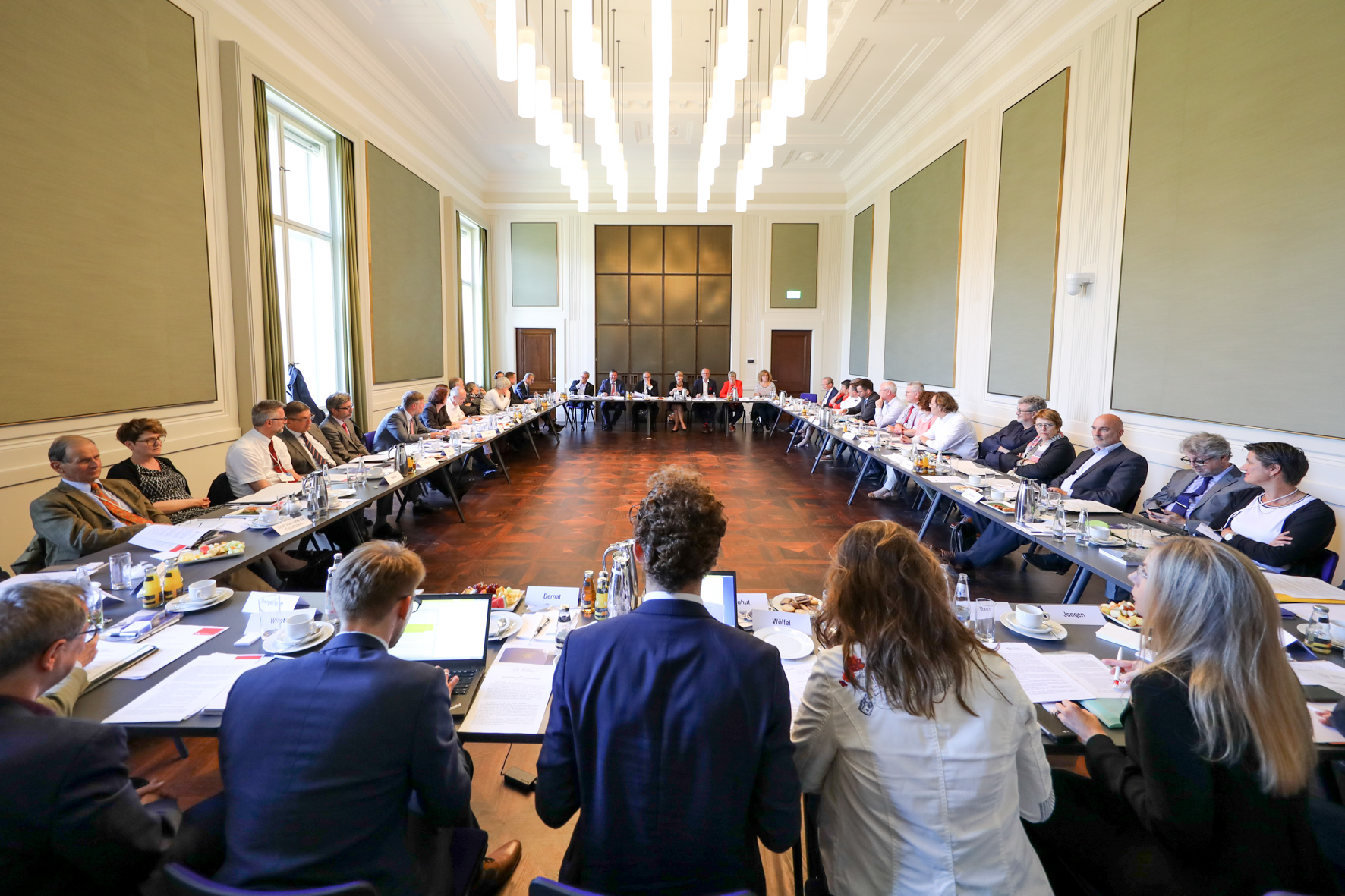 Sondersitzung des Deutschen Nationalkomitees für Denkmalschutz (DNK) am 21. Juni 2018 in Berlin anlässlich des Summit zum Kulturerbejahr Sharing Heritage 2018. (Foto: DNK © Der Dehmel)
