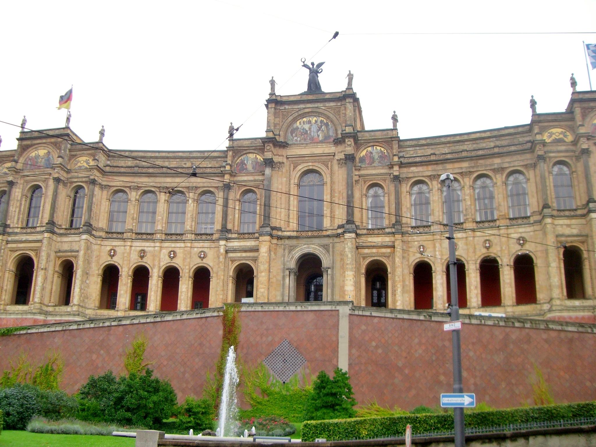 Bayrischer Landtag München (Foto:  Christoph Radtke, CC BY 3.0)