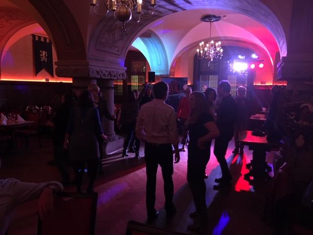 Bunter Abend im Ratskeller mit Tanz zu später Stunde. Foto: Patricia Brozio