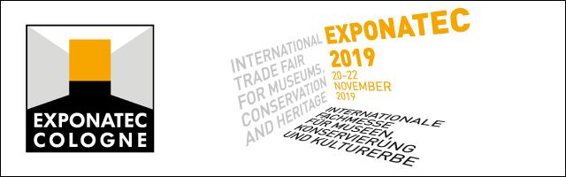 Vom 20.-22.11.2019 ist der VDR auf der exponatec in Köln