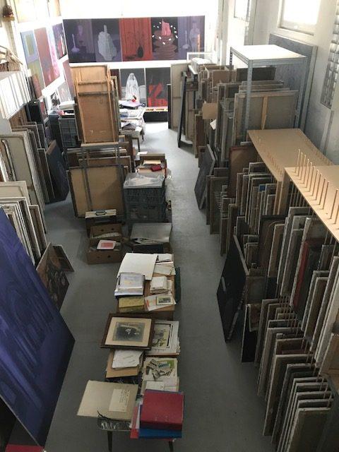 Atelier und Nachlassdepot Klaus Kehrwald (1959-2009) (Foto: Hanne Kehrwald)