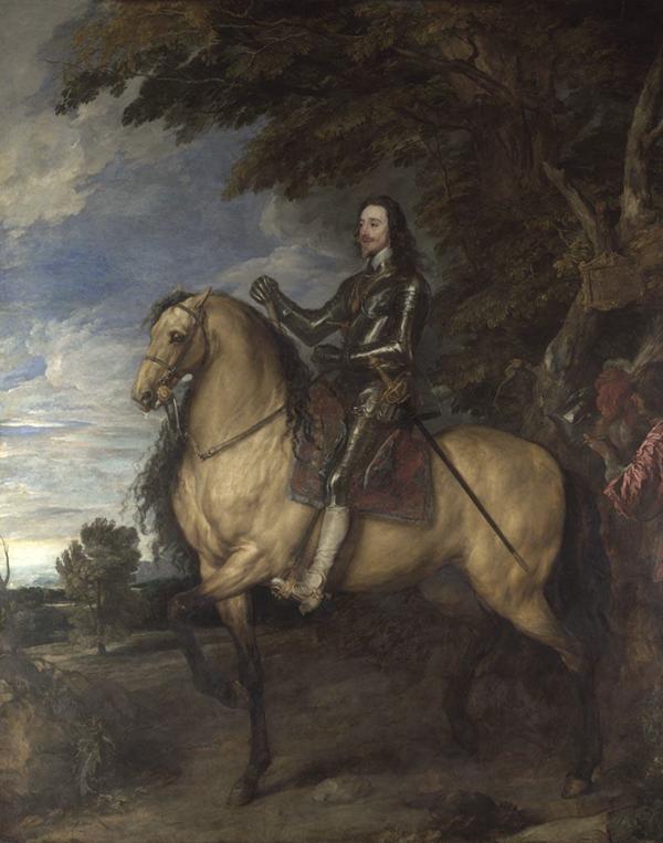 Van Dyck Equestrian portrait of Charles I