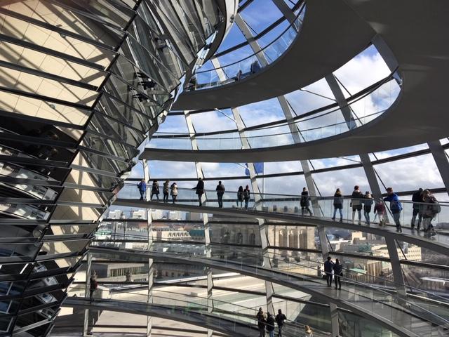 vom Reichstag. Fotos: Patricia Brozio