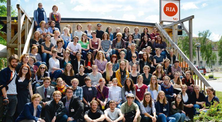 Teilnehmer des Studierendenkolloquiums.