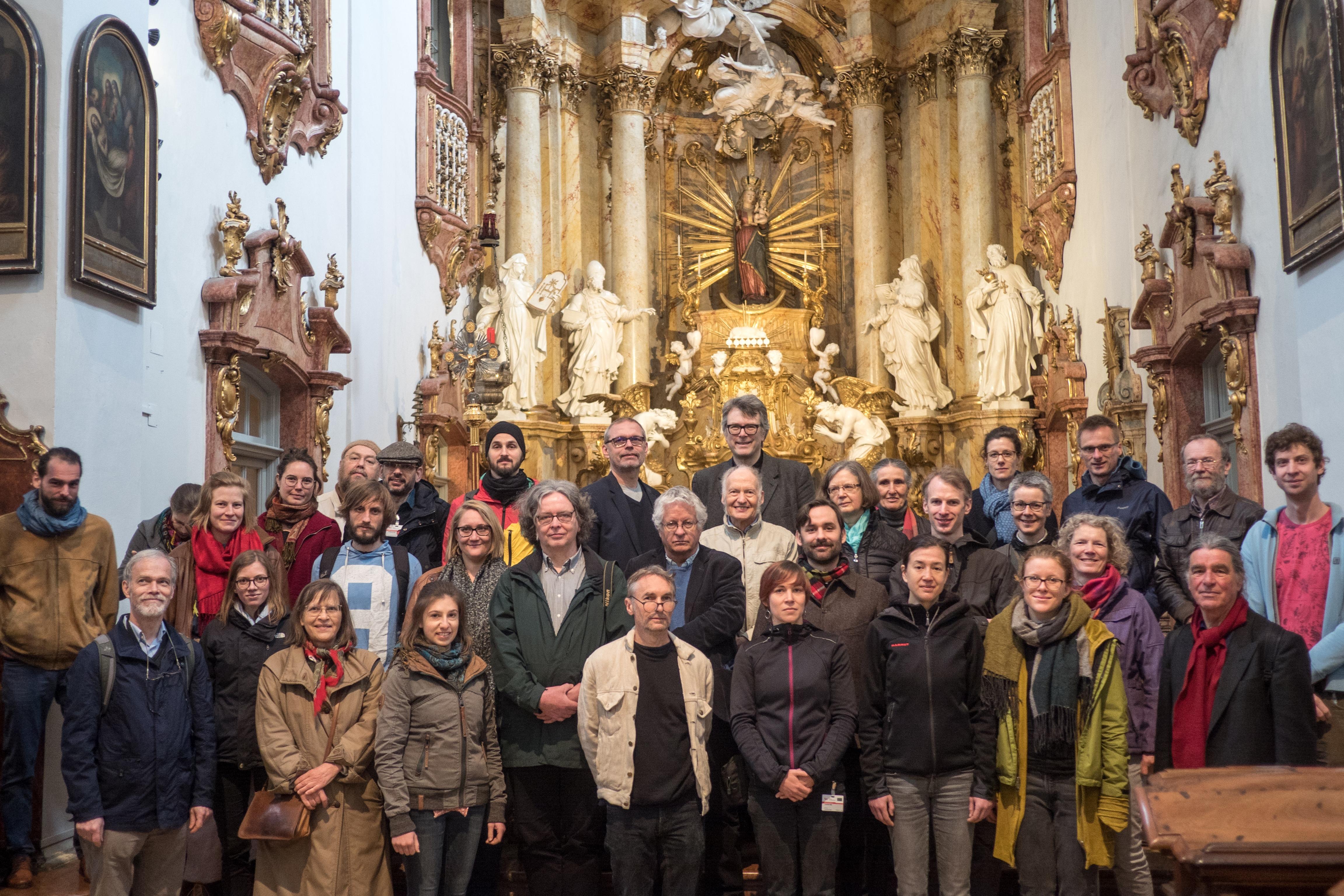 Gruppenfoto vom Fachgruppentreffen (Foto: Johan Ter Maat)