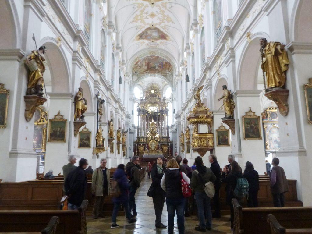 In St. Peter in München (Foto: Julia Brandt)