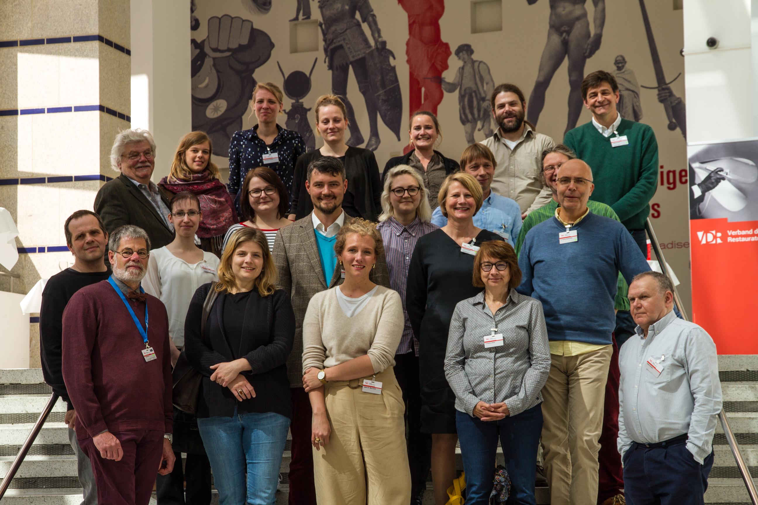 Die Referenten der Möbeltagung 2019. Foto: Anselm Pranz und Henrike Steinweg