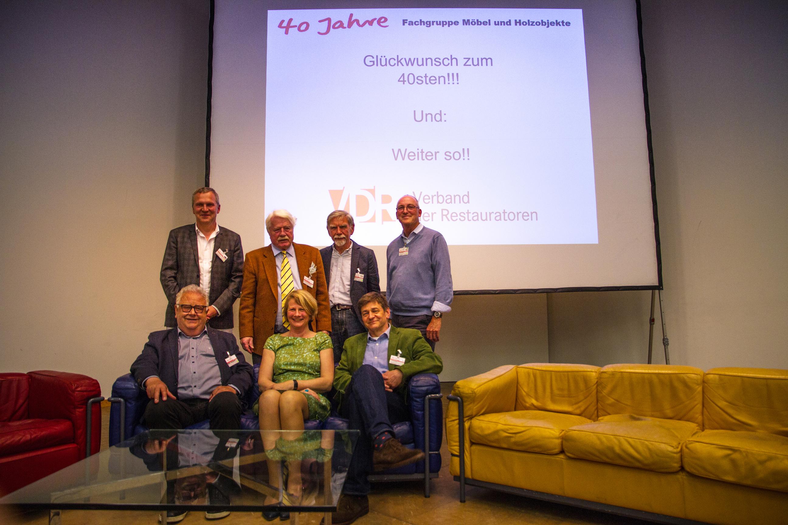 """Ihr 40-jähriges Jubliäum feierte die Fachgruppe Möbel mit der Tagung """"Ein Stück Alltag"""" im Mai in Nürnberg. (Foto: Anselm Pranz, Henrike Steinweg)"""