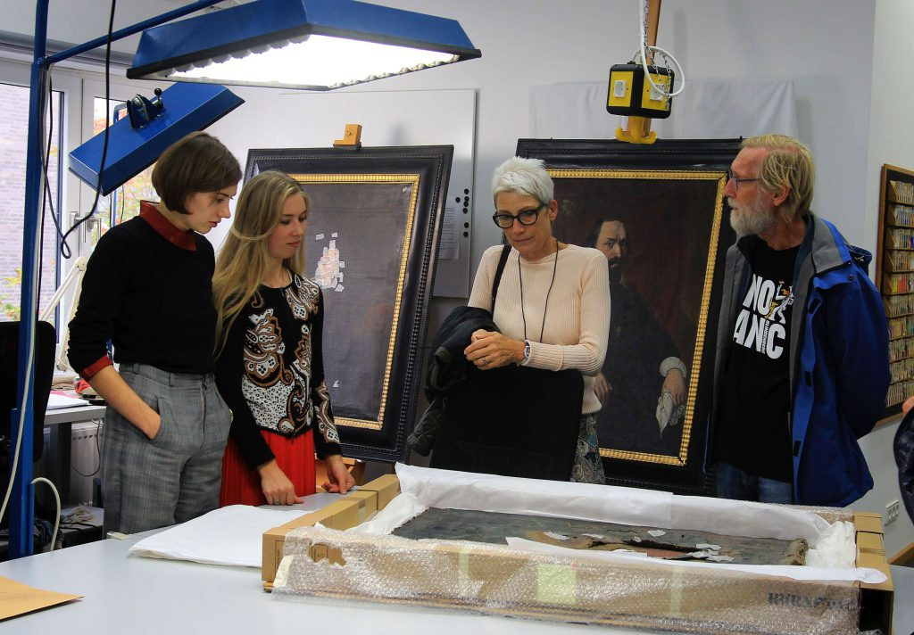 Europäischer Tag der Restaurierung an der Hochschule für Angewandte Kunst und Wissenschaft in Hildesheim (Foto: Ralf Buchholz)