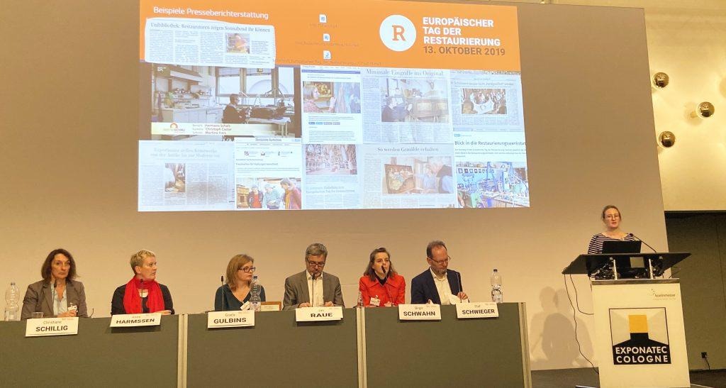 Patricia Brozio berichtet vom 2. Europäischen Tag der Restaurierung.