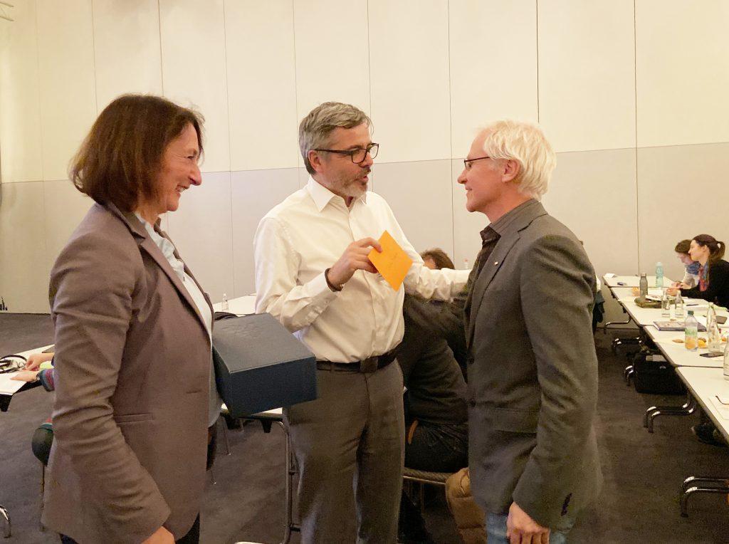Auch Christian Leonhardt ist neues VDR-Ehrenmitglied.