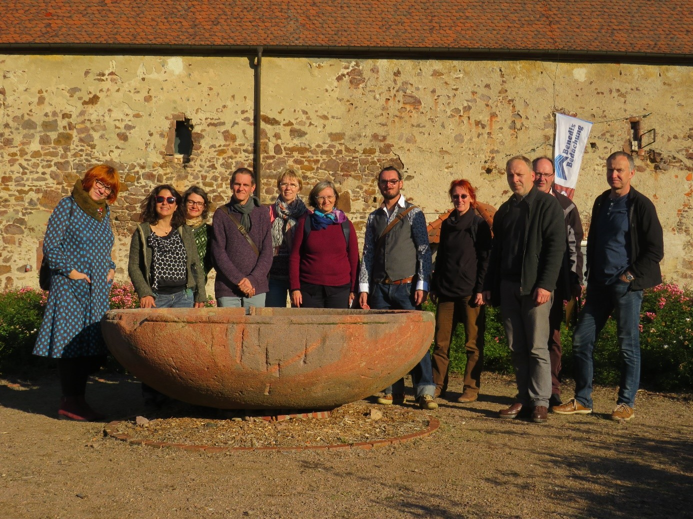Teilnehmer der Exkursion nach Leisnig 2019 (Foto: Torsten Nimoth)