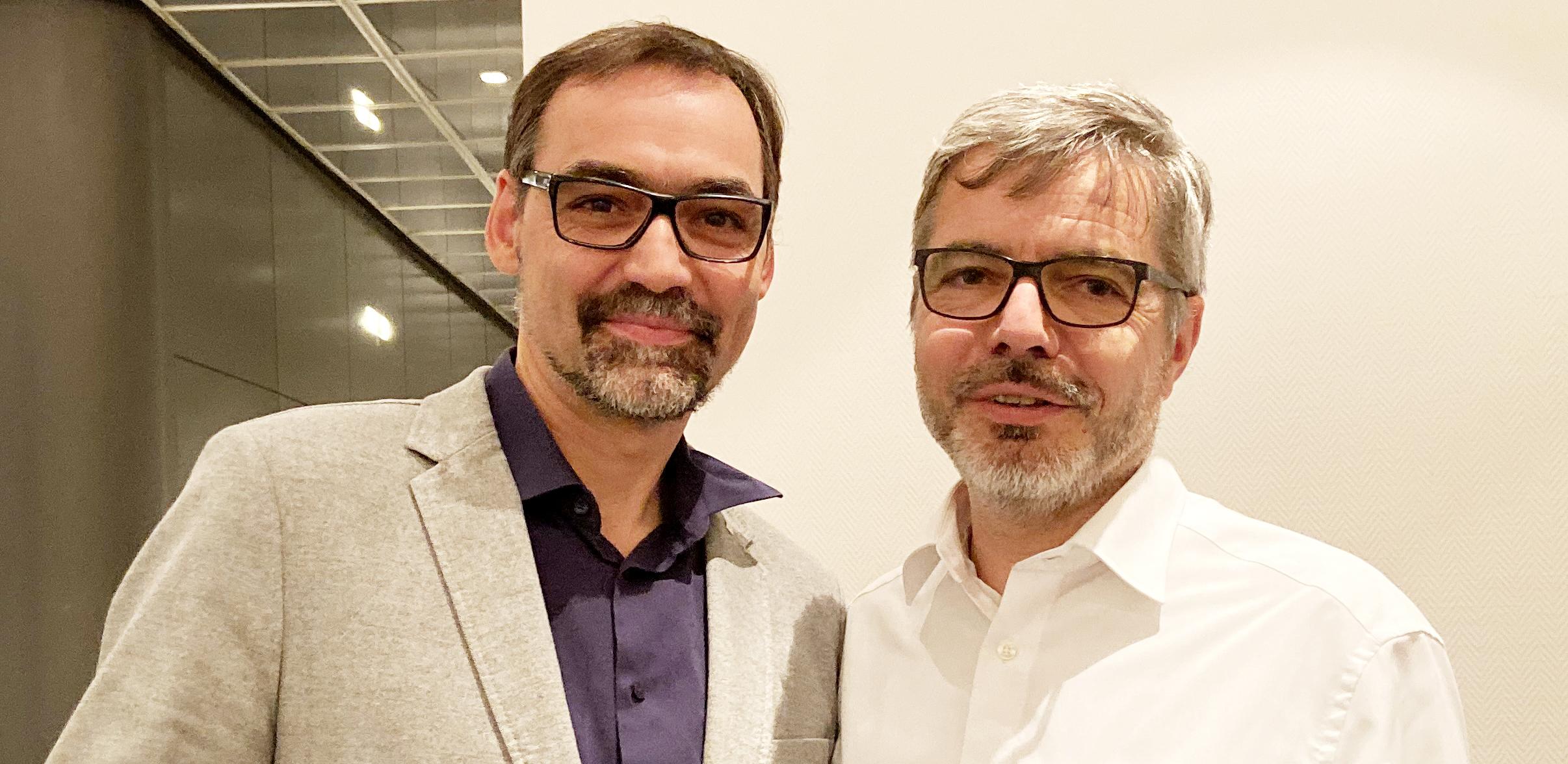Im November 2019 wählt die Mitgliederversammlung ein neues Präsidium. Sven Taubert übernimmt den Verbandsvorsitz von Prof. Dr. Jan Raue. Foto: Gudrun von Schoenebeck