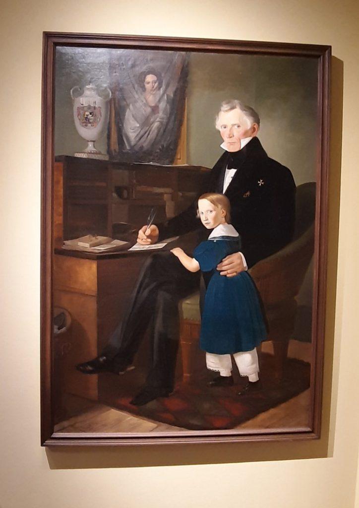 Bild 5: Porträt des Grafen Heinrich Levin von Wintzingerode an seinem Schreibtisch arbeitend (Foto: Christian Huber)