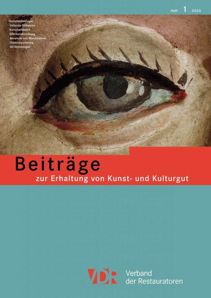 """Fachzeitschrift """"Beiträge zur Erhaltung von Kunst- und Kulturgut"""""""