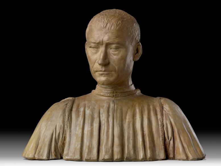 Benedetto da Maiano, Porträtbüste des Filippo Strozzi. Skulpturensammlung und Museum für Byzantinische Kunst, Staatliche Museen zu Berlin, (Foto: Antje Voigt, CC BY-NC-SA 3.0)