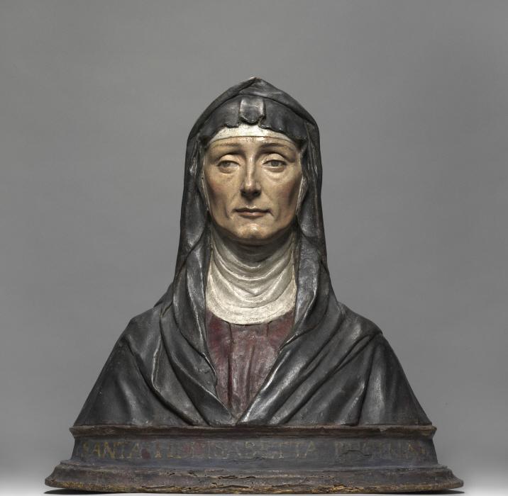 Porträtbüste einer Frau, Florenz, um 1475. Skulpturensammlung und Museum für Byzantinische Kunst, Staatliche Museen zu Berlin, (Foto: Antje Voigt, CC BY-NC-SA 3.0)