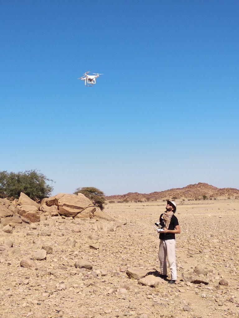 Drohneneinsatz (Foto: Alexander Gatzsche)