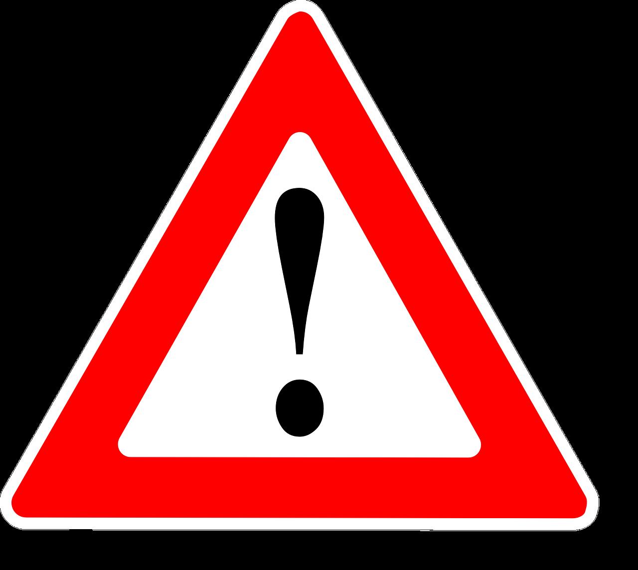 Achtung! Foto: Pixabay