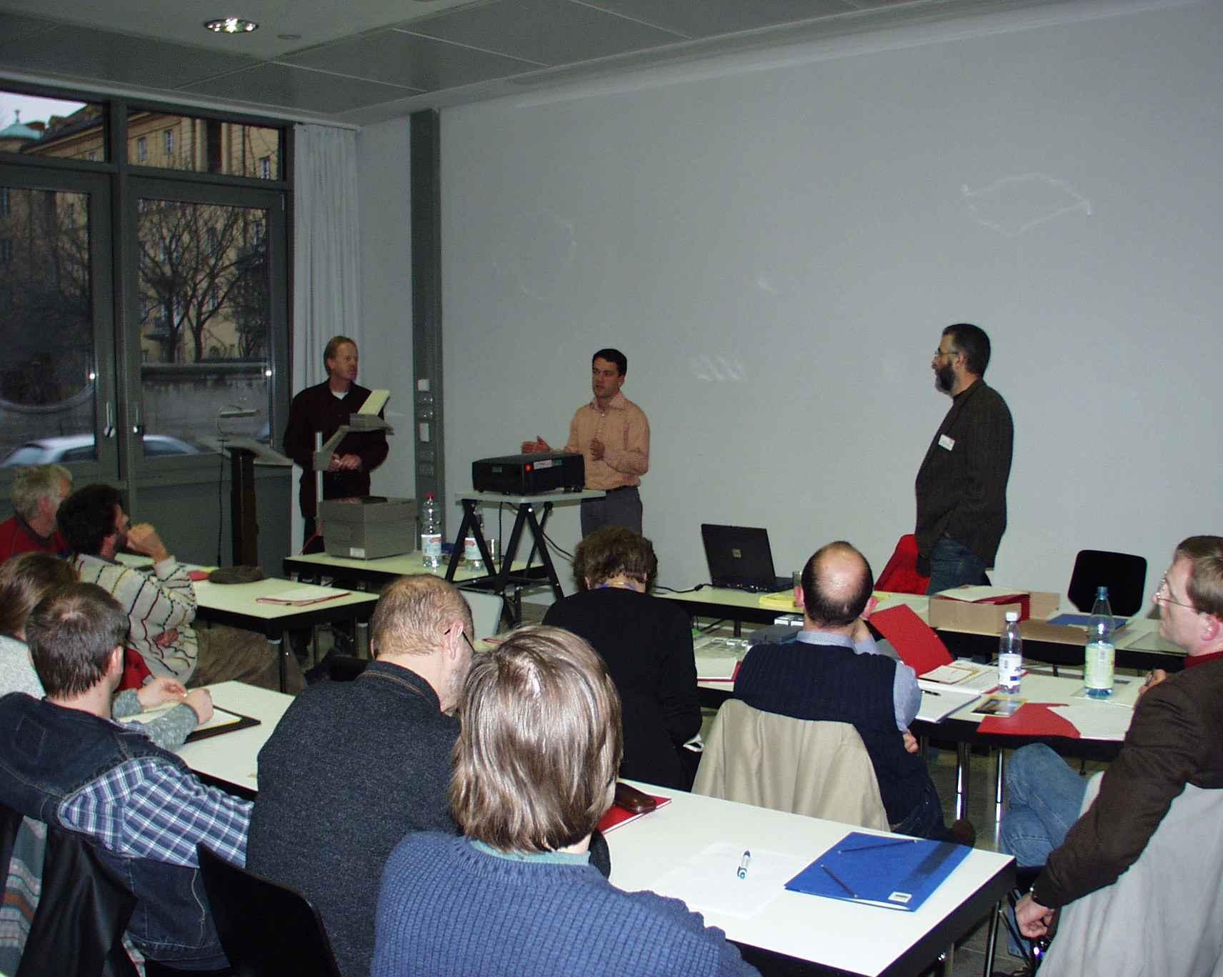 2. Restauratorentag, München, Vortrag in der Fachgruppe Technisches Kulturgut. Foto: Kornelius Goetz
