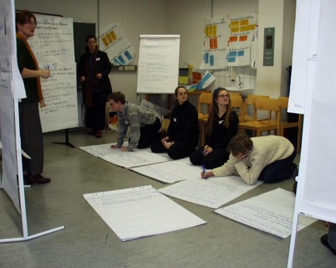 Zukunftswerkstatt VDR: Mitglieder aus allen Vorgängerverbänden entwickeln in Bonn, extern moderiert, Visionen für die Arbeit des fusionierten Verbandes. Foto: Kornelius Götz.