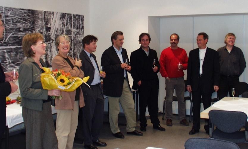 Ein Jahr VDR – Empfang in den neu angemieteten Geschäftsräumen im Bonner Haus der Kultur.