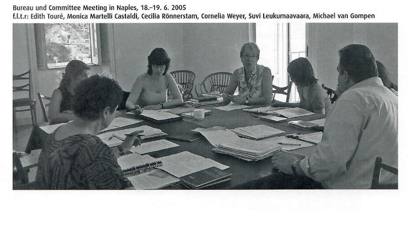 E.C.C.O.-Sitzung in Neapel