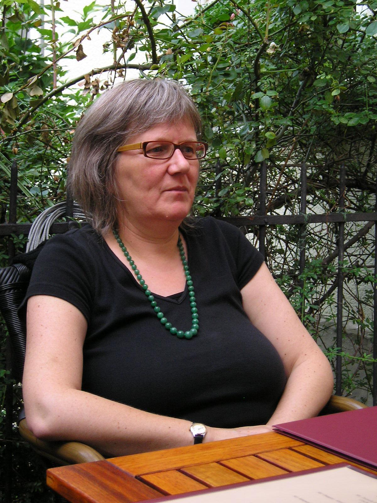 Geschäftsführerin Dr. Sabina Fleitmann. Foto: Kornelius Goetz
