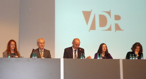 Das VDR-Präsidium von 2009-2011