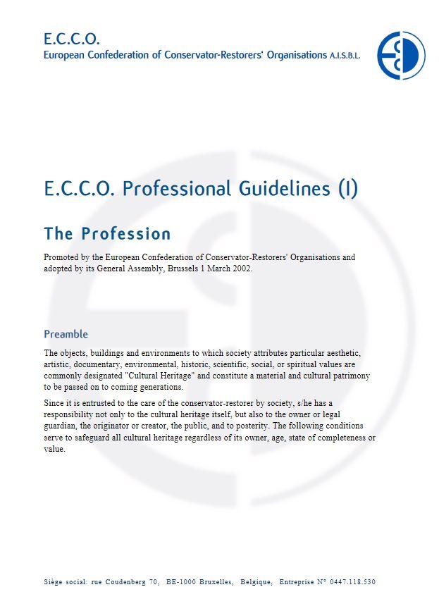 Berufsrichtlinien