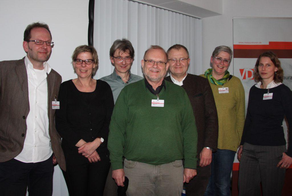 Die Referent:innen des Vergabeseminars 2015 in Bonn. Foto: Carla Leupold