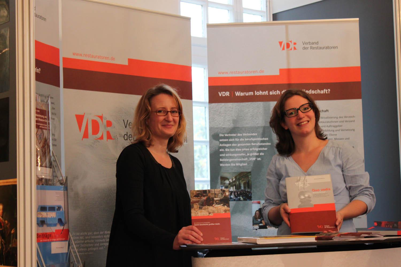 Der VDR im November 2013 auf der EUHEF in Wiesbaden. Foto: Marc Altenhenne, VDR