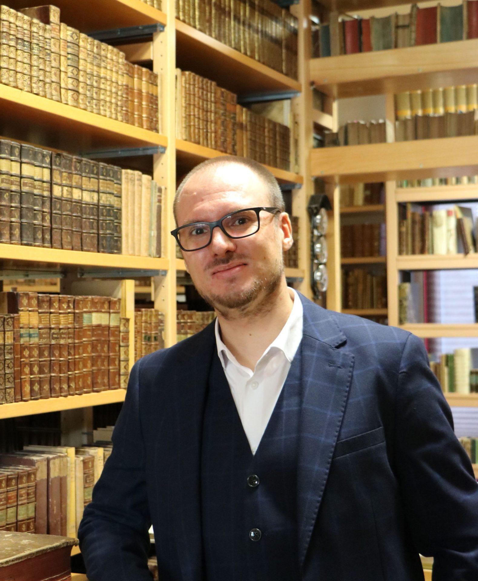 Marc Holly übernimmt im Gleimhaus Halberstadt die Landesberatungsstelle zur Bestandserhaltung in Sachsen-Anhalt
