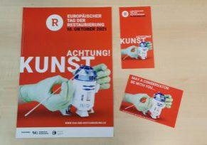 Plakate und Flyer liegen versandbereit in der VDR-Geschäftsstelle.