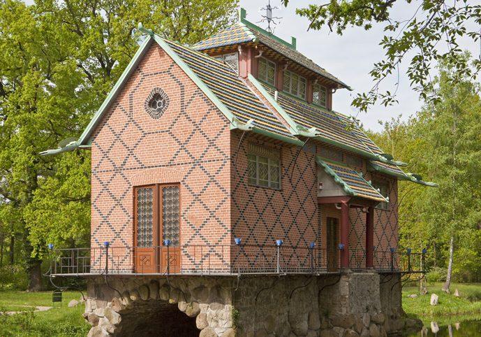 Das chinesische Haus im englisch-chinesischen Garten in Oranienburg (Foto: H. Fräßdorf)
