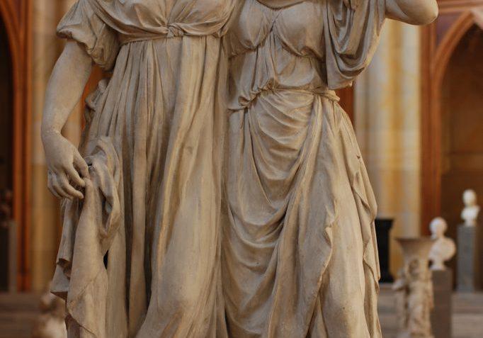 Prinzessinnengruppe von Johann Gottfried Schadow (Foto: Staatliche Museen zu Berlin, Anna von Graevenitz)
