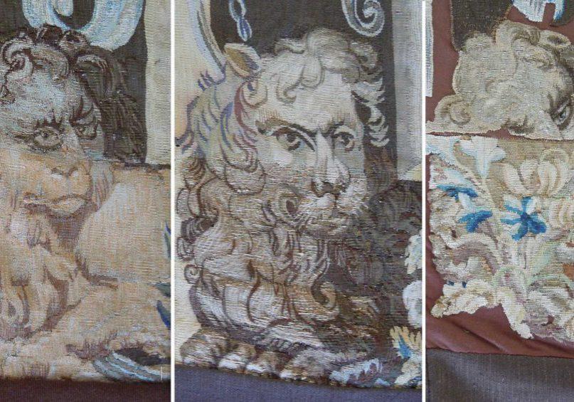 (c) Staatliche Schlösser und Gärten Ba.-Wü., Foto: Textilkonservierung